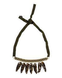 Matthew Williamson - Green Necklace - Lyst