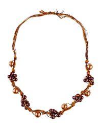 Ermanno Scervino   Purple Necklace   Lyst