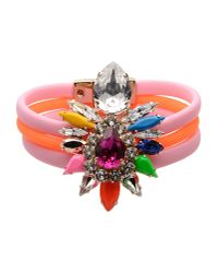 Shourouk - Orange Bracelet - Lyst