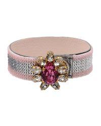 Shourouk Pink Bracelet