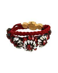 Shourouk - Red Bracelet - Lyst