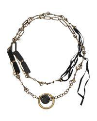Masnada - Metallic Necklace - Lyst