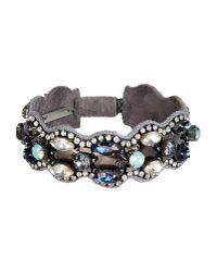 Deepa Gurnani | Purple Bracelet | Lyst