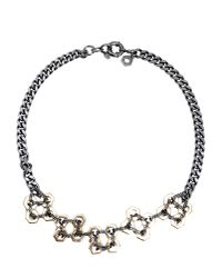 Marc By Marc Jacobs | Gray Necklace | Lyst