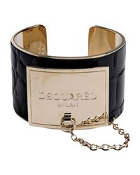 DSquared² | Black Bracelet | Lyst