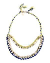Liu Jo | Blue Necklace | Lyst