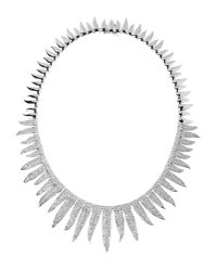CZ by Kenneth Jay Lane - Metallic Necklace - Lyst