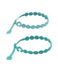 Cruciani - Blue Bracelet - Lyst