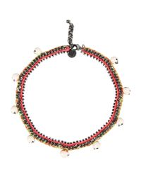 Venessa Arizaga | Red Necklace | Lyst