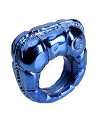 MM6 by Maison Martin Margiela | Blue Ring | Lyst