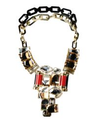 DSquared² - Black Necklace - Lyst