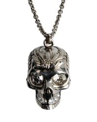 Alexander McQueen - Metallic Necklace - Lyst