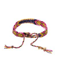 Lucy Folk - Red Multi Poison Ivy Chain Bracelet - Lyst