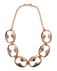 Ca&Lou - Metallic Necklace - Lyst