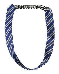 Pinko - Blue Necklace - Lyst