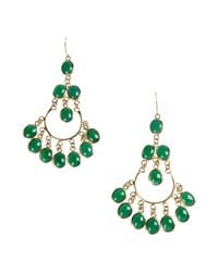 Isharya | Green Earrings | Lyst