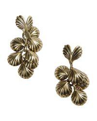 Giles & Brother   Metallic Earrings   Lyst