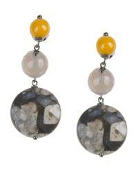 Donatella Pellini - Yellow Earrings - Lyst
