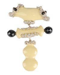 Christian Lacroix | Natural Brooch | Lyst