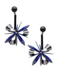 Erika Cavallini Semi Couture - Blue Earrings - Lyst