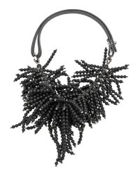 Brunello Cucinelli - Black Necklace - Lyst