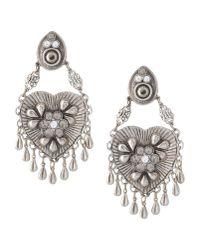 La Perla | Metallic Earrings | Lyst