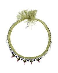Joomi Lim - Green Necklace - Lyst