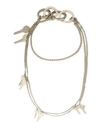 Filles A Papa | Metallic Necklace | Lyst