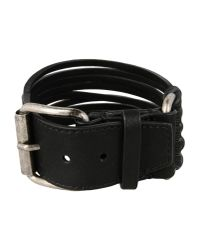 Ann Demeulemeester - Black Bracelet for Men - Lyst
