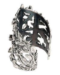John Richmond | Metallic Bracelet | Lyst