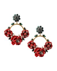 Dolce & Gabbana | Red Earrings | Lyst
