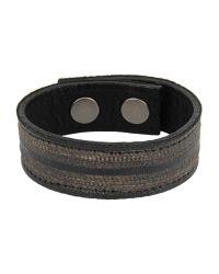 HTC - Black Bracelet for Men - Lyst