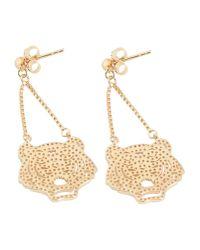 KENZO | Metallic Earrings | Lyst