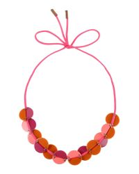 Marni | Red Necklace | Lyst
