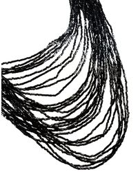 Helene Zubeldia | Black Necklace | Lyst