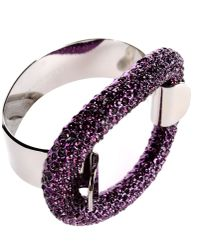 Dries Van Noten - Purple Bracelet - Lyst