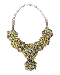 Valentino - Yellow Necklace - Lyst