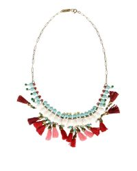 Isabel Marant - White Necklace - Lyst