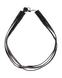Deepa Gurnani   Black Necklace   Lyst