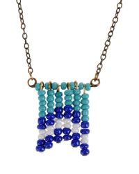 Forte Forte | Blue Necklace | Lyst
