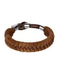 DSquared² - Brown Bracelet for Men - Lyst