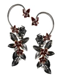 Roberto Cavalli - Gray Earrings - Lyst