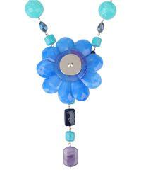 Marina Fossati   Blue Necklace   Lyst