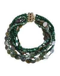 First People First - Green Necklace - Lyst