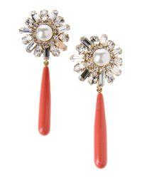 Elizabeth Cole | Metallic Earrings | Lyst