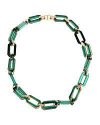 DSquared² | Green Necklace | Lyst