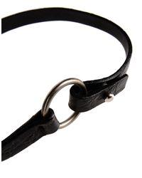 Jil Sander | Black Bracelet | Lyst