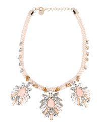 Pinko - Metallic Necklace - Lyst