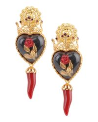 Dolce & Gabbana | Red Earrings | Lyst