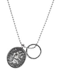 First People First - Metallic Necklace for Men - Lyst